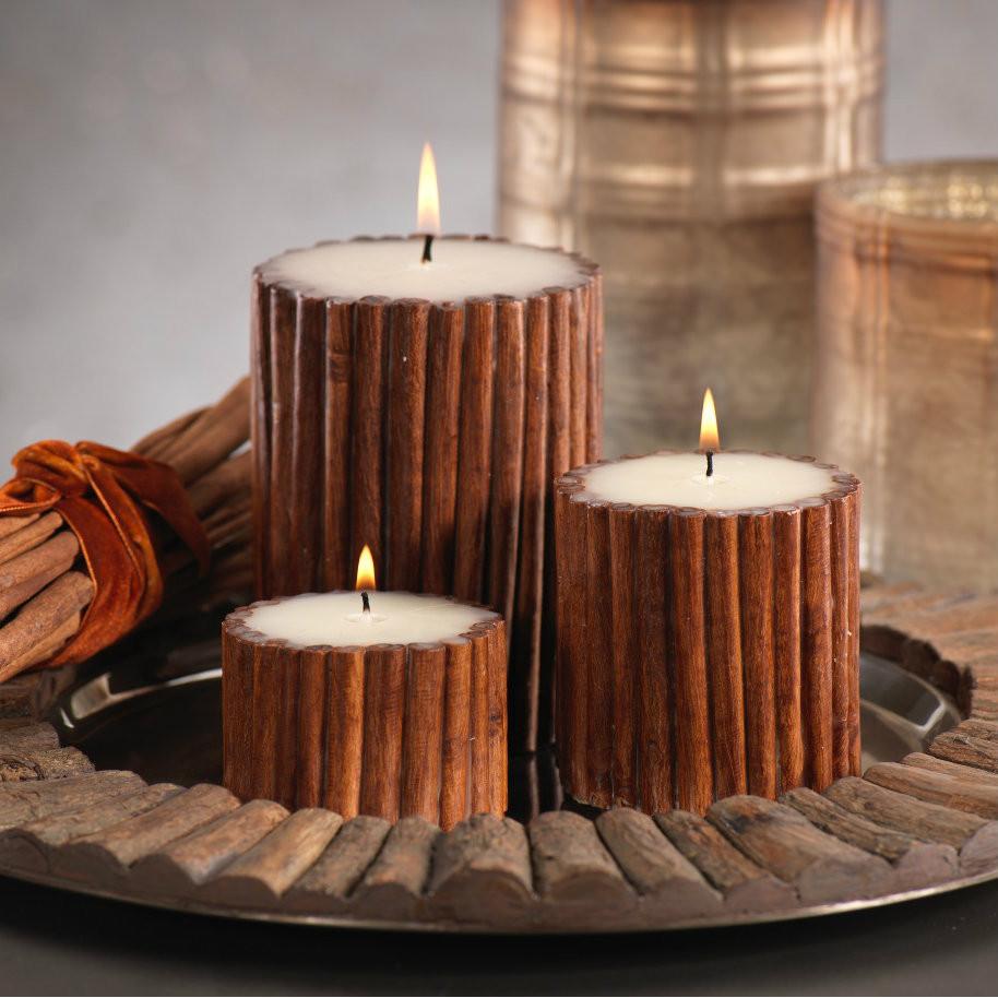 свещи ръчно направени