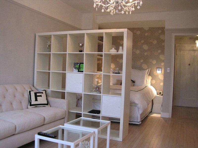 Интериор за студио спалня
