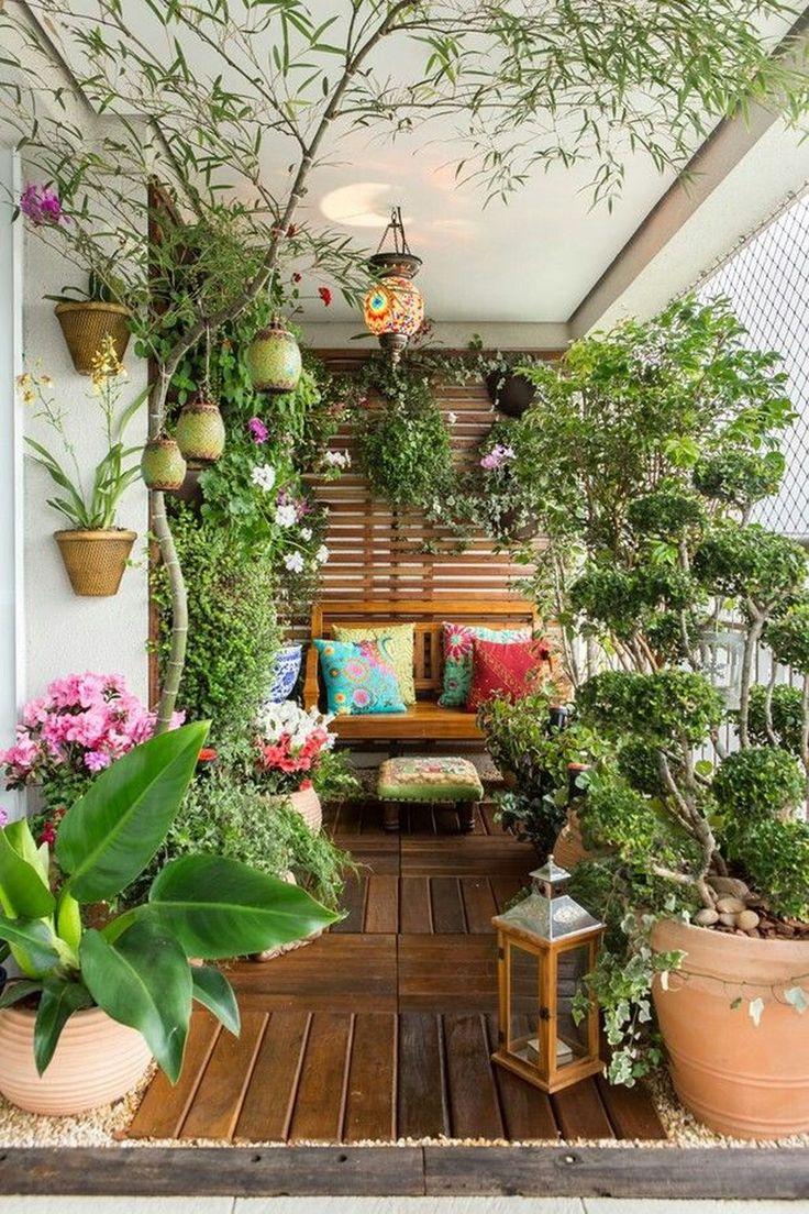 екзотична зимна градина