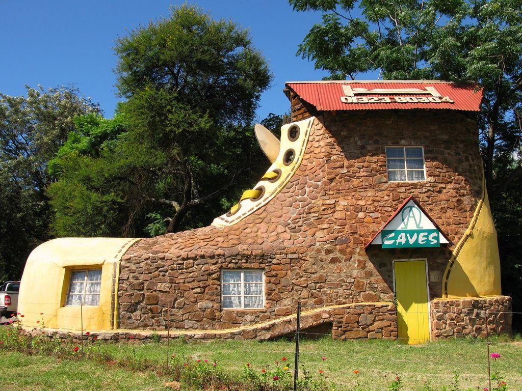 къщата в Африка