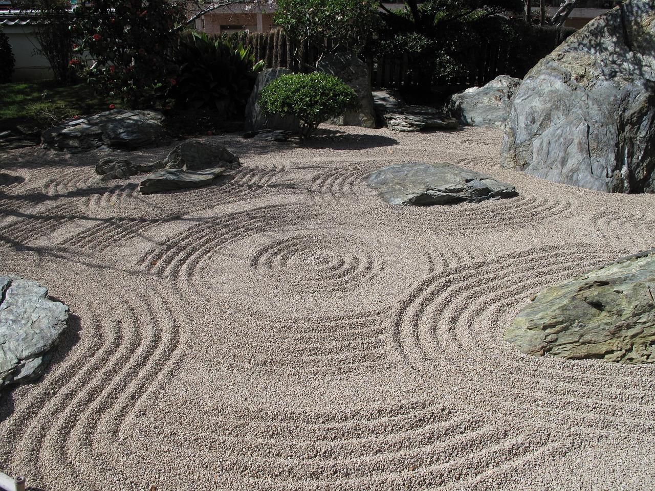 елегантна японска градина