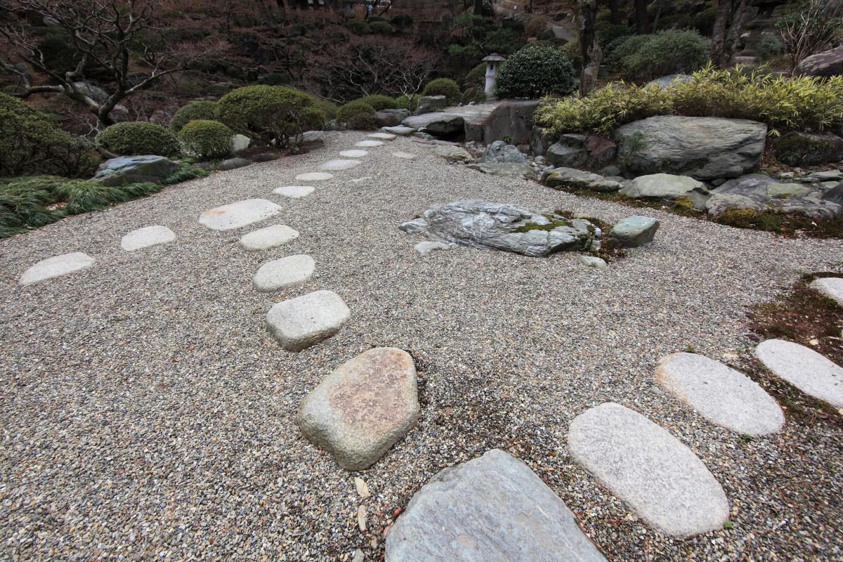 модел на японска градина